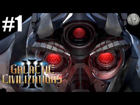 "Galactic Civilizations 3 Let's Play - Beta 3 - Yor Godlike - #1 - ""Organic Annihilators"""