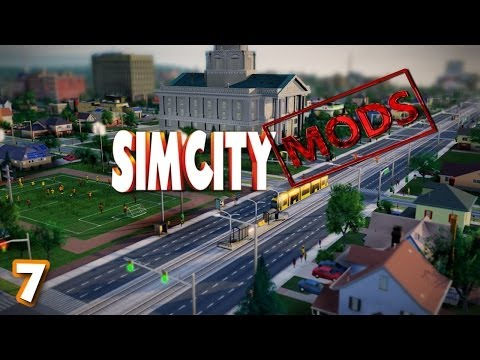 SIMCITY MODS - Simcity 5 (2013) Public Transport Stops, Natural Parks y Power Upgrade