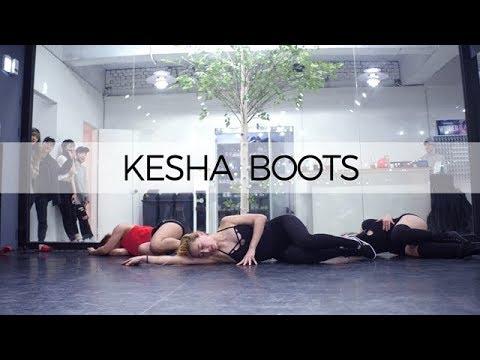 Kesha  Boots choreographyFunkyY