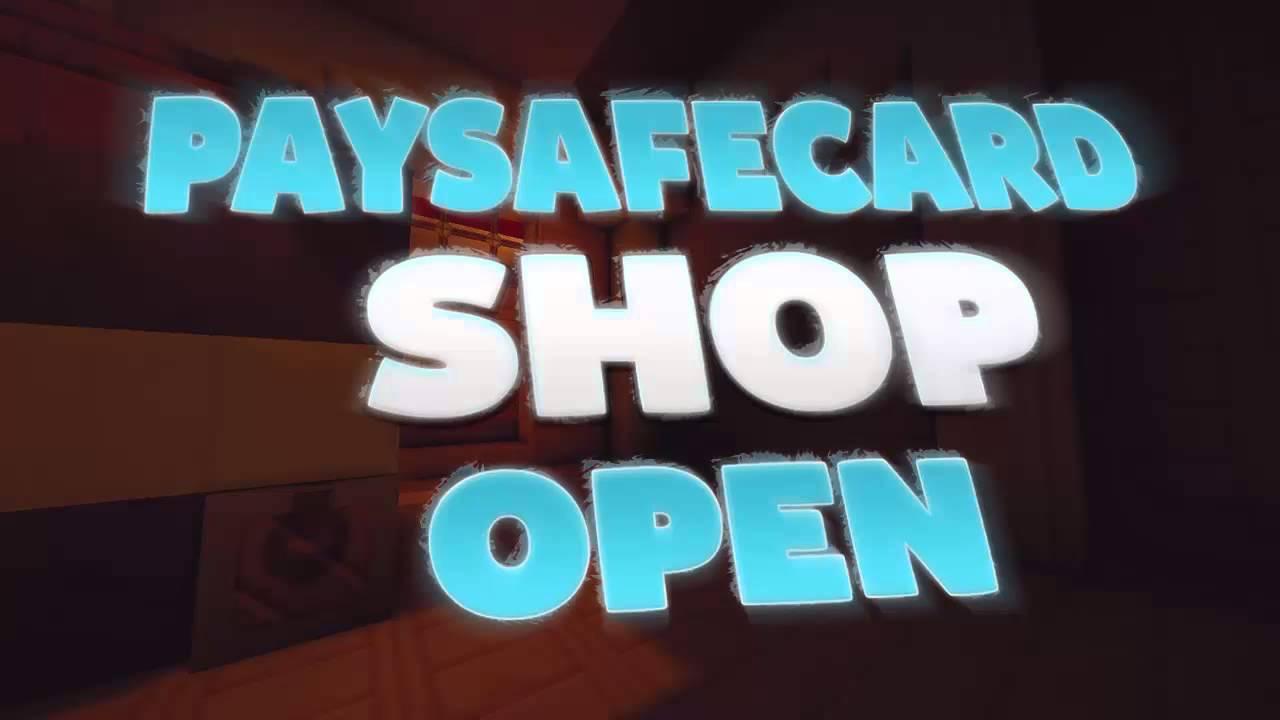paysafecard shop