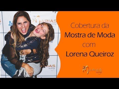 TV 3Marias: Cobertura da Mostra de Moda com Lorena Queiroz