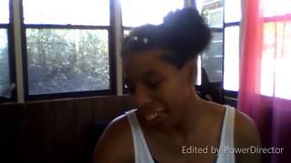 Two Puffs and a Braid | Natural Hair
