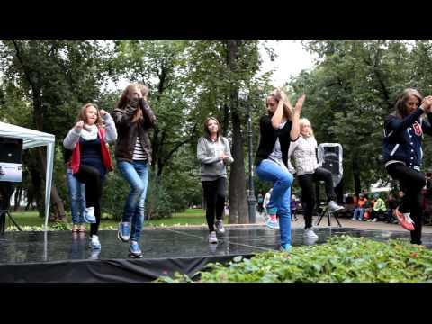 репетиция флешмоба день города 2012г