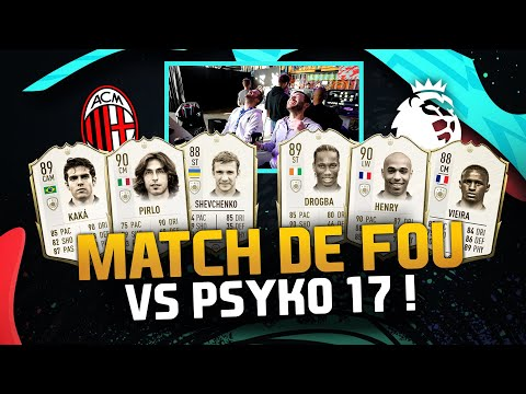FIFA 20 - MATCH DE FOU VS PSYKO17 !