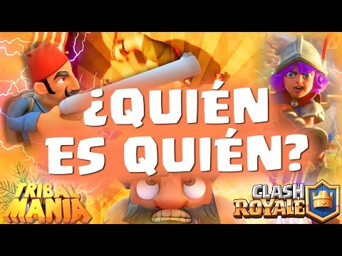 COMPARAMOS LAS CARTAS DE CLASH ROYALE / TRIBAL MANIA ¿QUIÉN