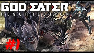 [Episode 1] God Eater: Resurrection PS4 Gameplay [Tutorial/Opening]