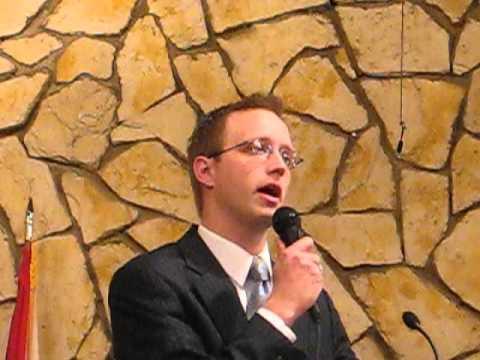 Dan Brown singing at P.B.C.