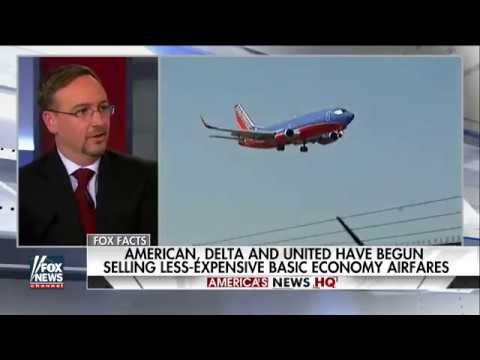 Discussing Basic Economy Fares With Leland Vitter on America's News HQ on Fox News