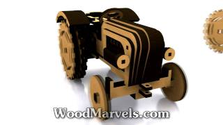 Farmer's Junior Tractor: 3d Assembly Animation (720hd)