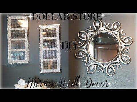DIY DOLLAR STORE  MIRROR DECOR  DIY ROOM DECOR 2018  PETALISBLESS