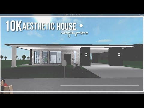 Roblox Bloxburg Aesthetic House 10k No Gamepasses