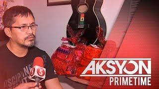 Photojournalist, nagbibigay ng Noche Buena items sa mga kapus-palad
