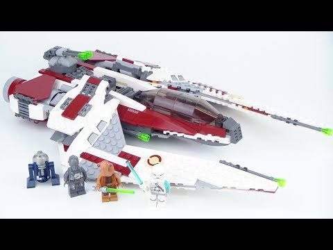 LEGO Star Wars: Jedi Scout Fighter 75051 Review!!! From 2014