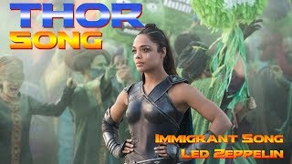 Rocking Song in THOR RAGNAROK - Immigrant Song