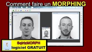 MORPHING Tutoriel du Montage avec SqirlzMorph (logiciel gratuit)