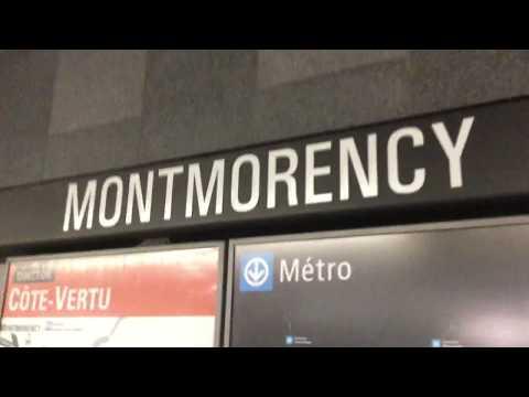 MONTREAL METRO RIDE ON AZUR SET 7