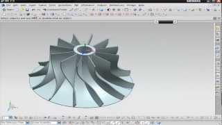 NX Modeling - Concept Design (Impeller)