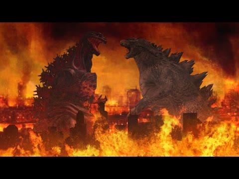 An Atomic Finale - Godzilla 2014 VS Shin Godzilla