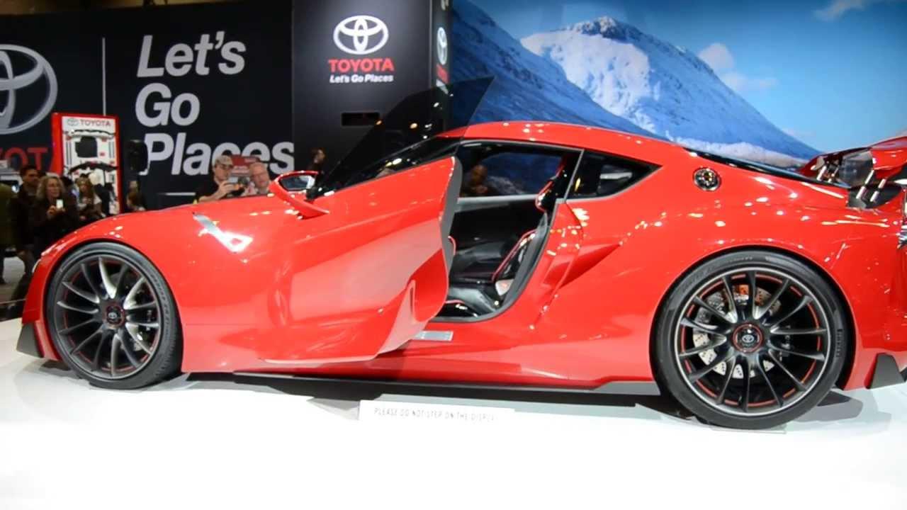 Chicago Auto Show Toyota Concept Sports Car 2015   YouTube