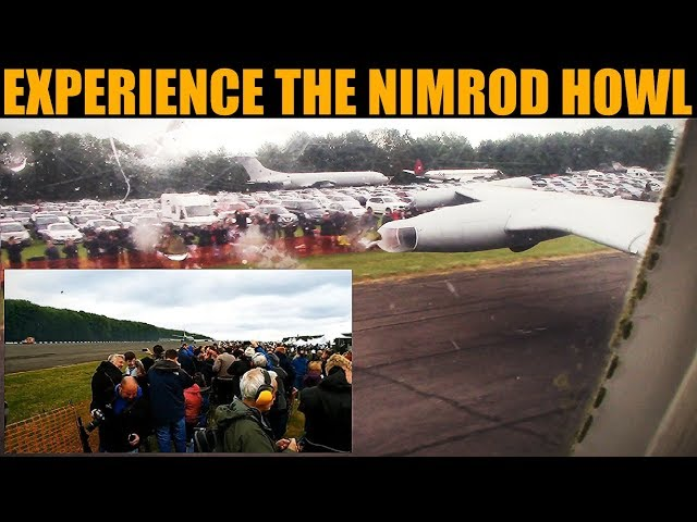 Mighty Nimrod HOWLS At Crowd During Max Power Run | Bruntingthorpe 2019