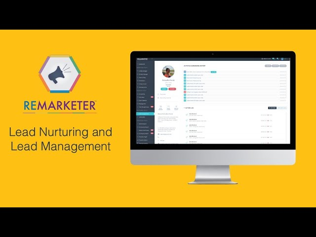 REMARKETER Training -  Lead Nurturing & Lead Management modules