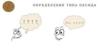Определение типа оксида