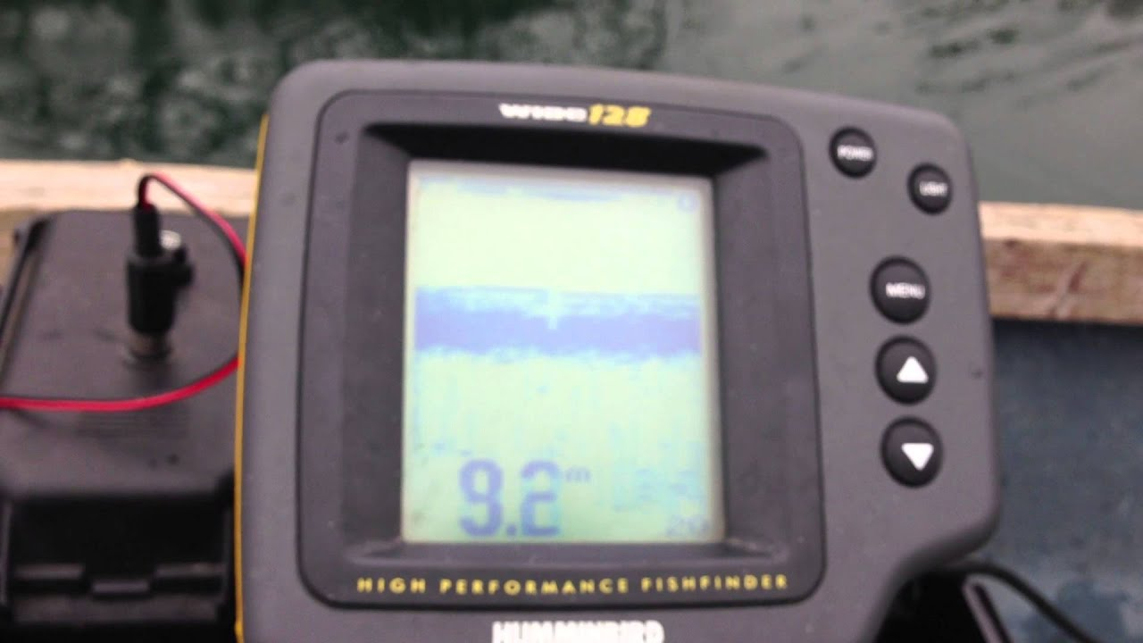 humminbird wide fishfinder, echosonda, fischfinder, ekkolodd, Fish Finder