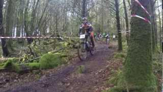 Connacht XC Mountain Bike Race Union Wood Co Sligo Ireland 2014