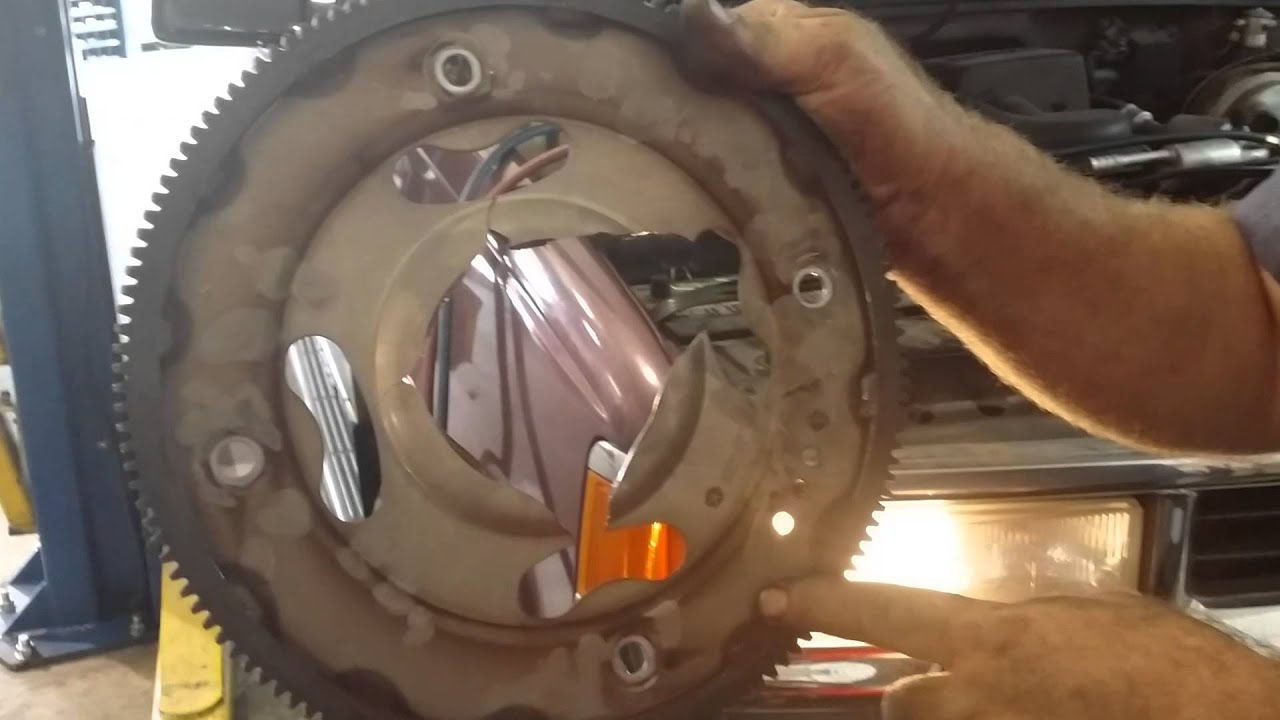 medium resolution of flex plate from a dodge caravan
