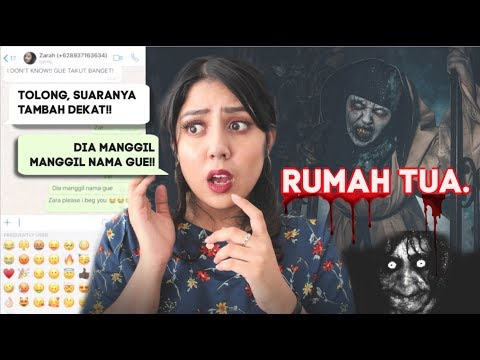 Chat History INDONESIA TERSERAM: Rumah Tua!! | #NERROR