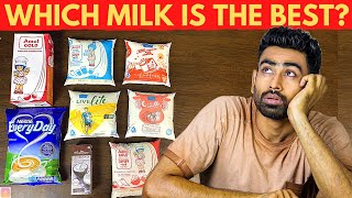 Milk in India Ranked from Worst to Best