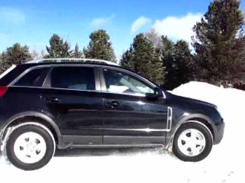 Opel Antara Test Ice Snow Offroad