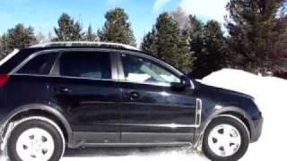 Opel Antara Test Ice Snow Offroad