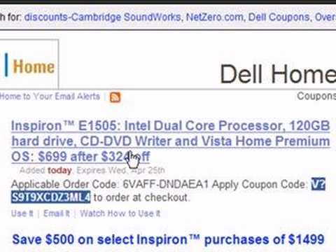 How To Use Dell Coupon Codes