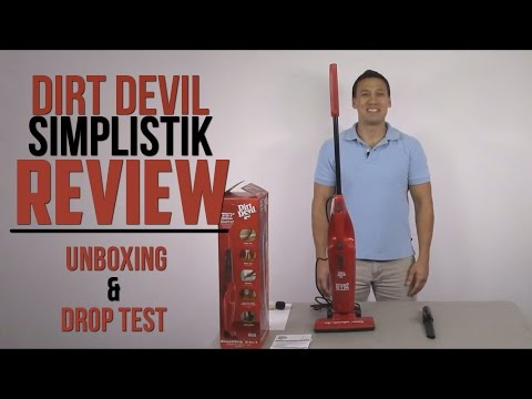Dirt Devil SimpliStik 3-in-1 Corded Handheld Stick Vacuum SD20000RED Review