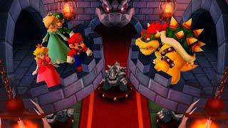 Mario Party The Top 100 MiniGames - Luigi Vs Mario Vs Peach Vs Rosalina (Master CPU)