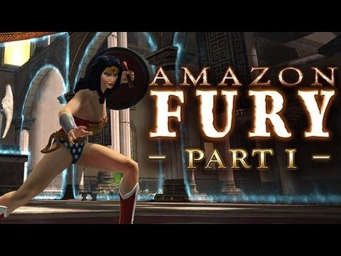 DC Universe Online PC Test Server: DLC 10 - Amazon Fury Part 1