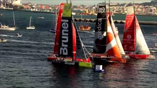 Watch this incredible footage of Volvo Ocean Race leaving Cape Town