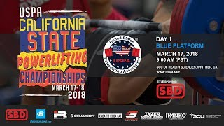 USPA California State Powerlifting Championships | Day 1 – Blue Platform
