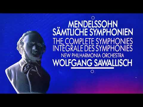 Mendelssohn - Complete Symphonies No.1,2,3,4,5 (recording of the Century : Wolfgang Sawallisch)