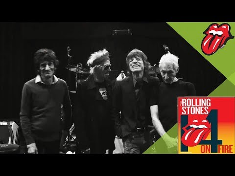The Rolling Stones - SHE'S SO COLD - 14 ON FIRE Paris Rehearsals