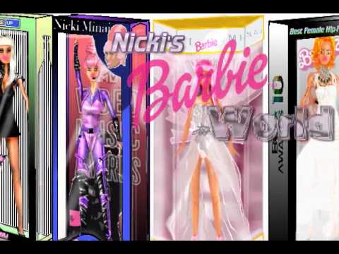 Nicki Minajs Barbie World Cartoon Commercial Youtube