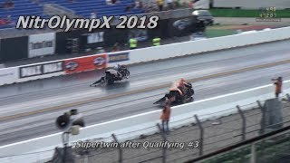 """NitrOlympX 2018 - Supertwin Qualifying summary after Qualifying #3 feat. """"Crazy Tak"""""""