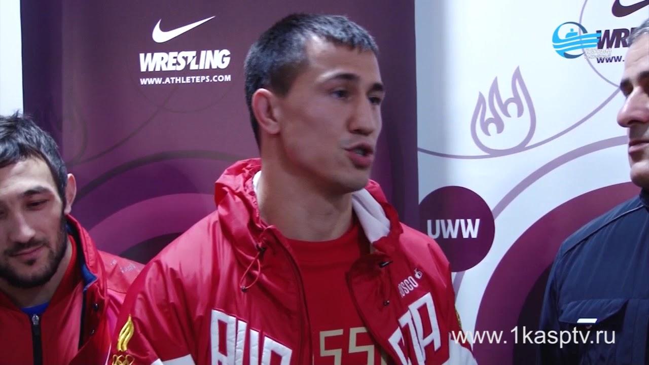 Сборная России по греко-римской борьбе прибыла в Дагестан для дальнейшего участия в чемпионате Европы по спортивной борьбе