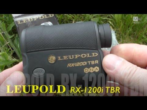 Leupold rangefinder rx i tbr preview youtube