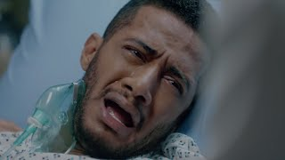 انهيار رضوان بعد سماع خبر وفاة مراته وابنه / مسلسل البرنس - محمد رمضان