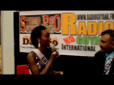 Radio Guyana International - Interviews of Miss Un