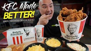 I tried KFC's ORIĠINAL Pressure Fryer Method   Guga Foods