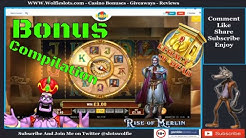 Online Slots Bonus Compilation Checking out doom of dead and  some crazy time
