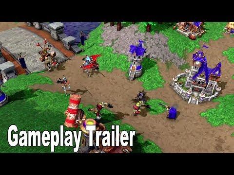 Warcraft 3: Reforged - BlizzCon 2018 Gameplay Trailer [HD 1080P]